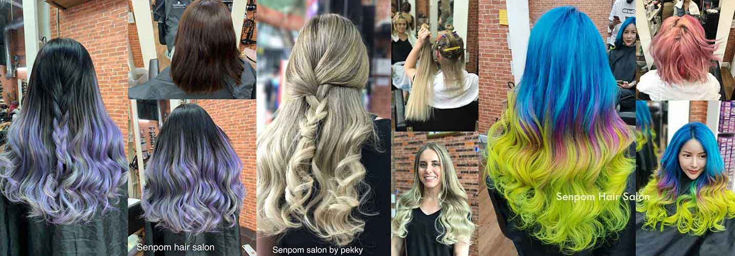 Trendy Bangkok Hair Extensions Style at Senpom Salon