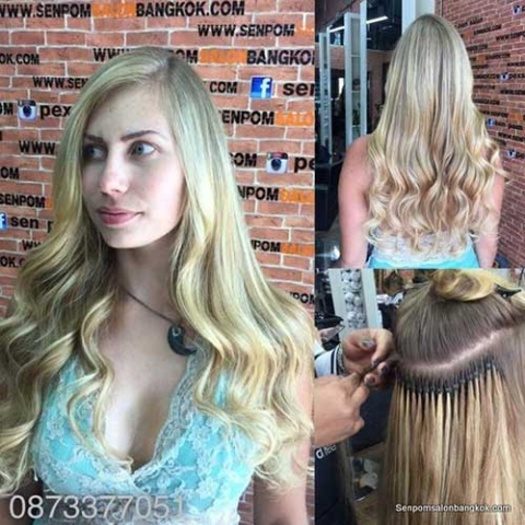Thailand Hair Extensions at Senpom Hair Salon