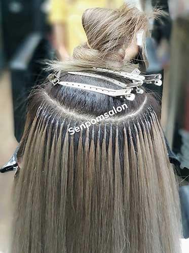 Bangkok Keratin Fusion Bonds Hair Extensions- Senpom Hair Salon