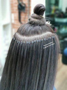 Micro Rings Hair Extensions in Bangkok - Senpom Hair Salon