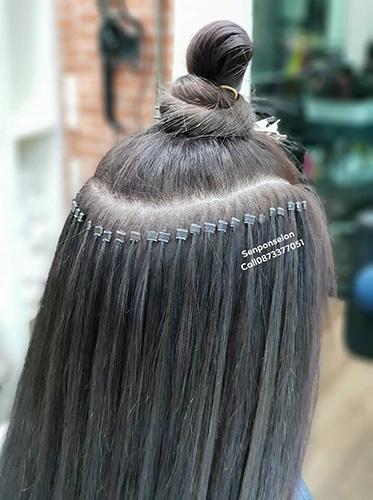Micro Rings Hair Extensions in Bangkok - Senpom Hair Salon