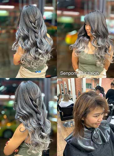 Bangkok Fashion Hair Extensions Hair Color