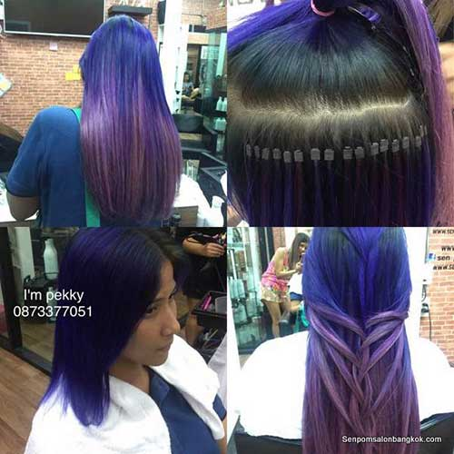 Trendy Bangkok Remy Hair Extensions Style