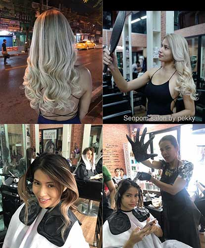 High Quality Micro Ring Hair Extensions in Bangkok
