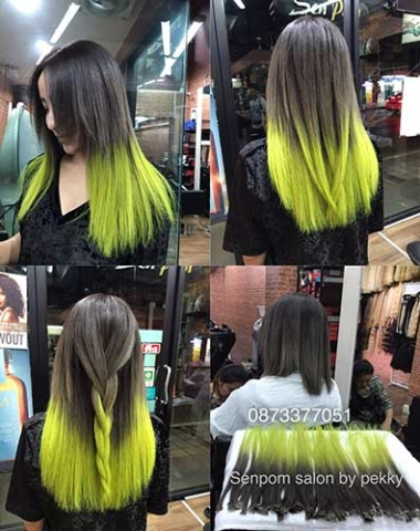 Micro Ring Hair Extensions at Senpom Salon