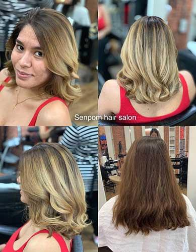 Balayage Hair Color Bangkok