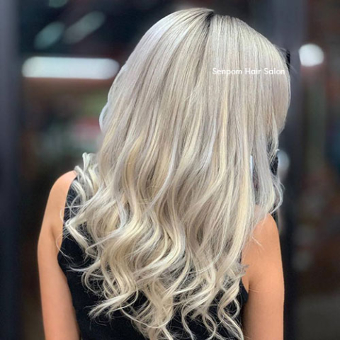 Natural Highlights - Senpom Hair Salon Bangkok