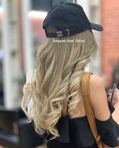 Blond Balayage Color Specialist in Bangkok