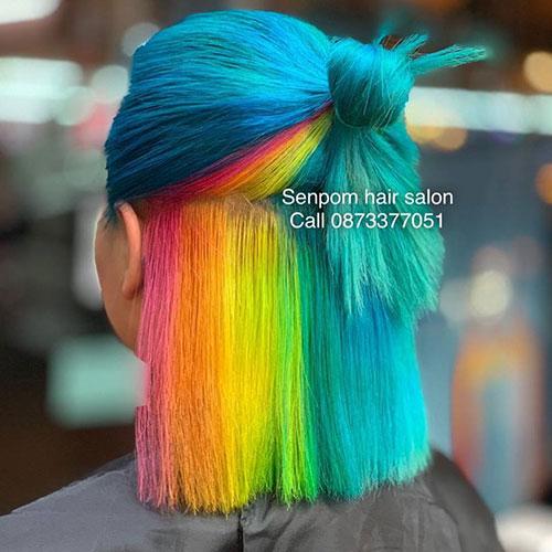 Fashion Hair Color in Bangkok